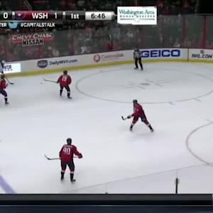 Mike Green Hit on Charlie Coyle (13:15/1st)