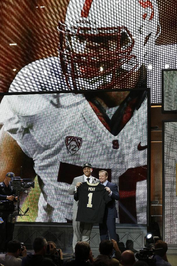 Saints take 3 more defensive players on draft's last day
