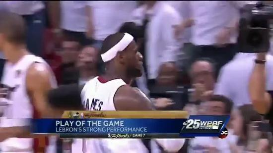 NBA Finals Game 7: Xfinity Fast Break Play Of The Game