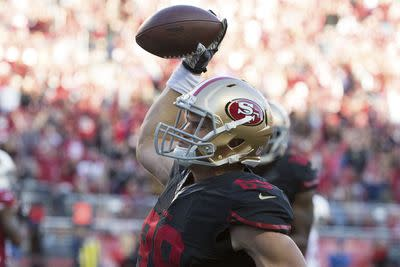 Fantasy football waiver wire advice: Vance McDonald emerging for 49ers