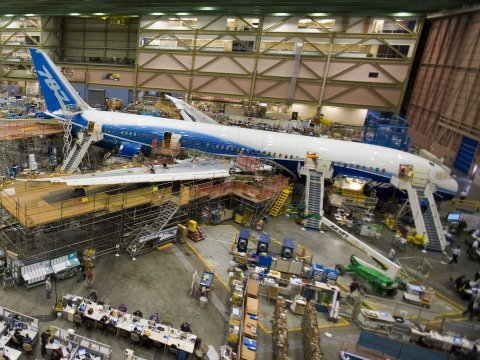 787 dreamliner assembly everett boeing