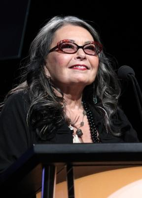Roseanne Barr makes a surprise appearance during the History and Lifetime portion of the 2011 Summer TCA Tour at the Beverly Hilton, Beverly Hills, July 27, 2011 -- Getty Images