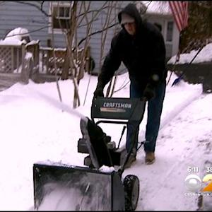 Highland Lakes, NJ Sees Majority Of Snow