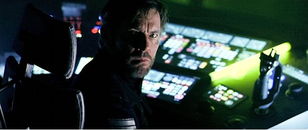 Pandorum Production Photos 2009 Overture Films Dennis Quaid
