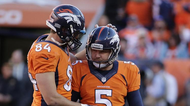 Broncos K Prater sent home sick again