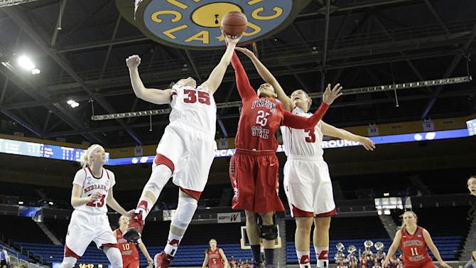 Nebraska women beat Fresno State 74-55 in NCAAs