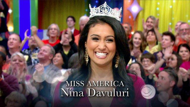 The Price Is Right - Nina Davuluri Guest Stars!
