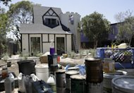 A Tudor-style home is being renovated for resale in the Silver Lake neighborhood of Los Angeles, California August 5, 2013. REUTERS/Jason Redmond