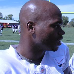 Minnesota Vikings Adrian Peterson: 'Looking forward to taking off'