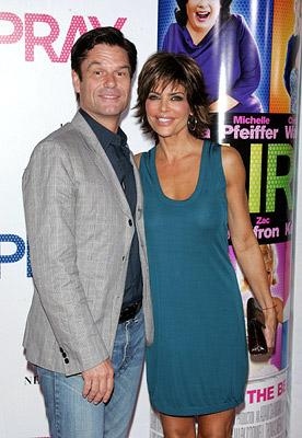 Harry Hamlin and Lisa Rinna at the New York premiere of New Line Cinemas' Hairspray