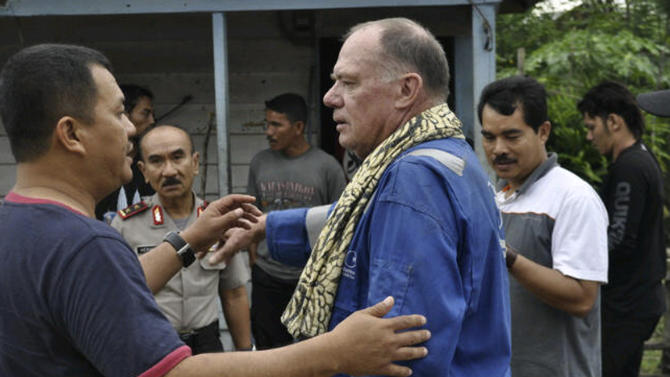 Scottish oil worker abducted in Indonesia released