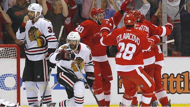 Ice Hockey - Red Wings down Blackhawks to take NHL semi-final series lead