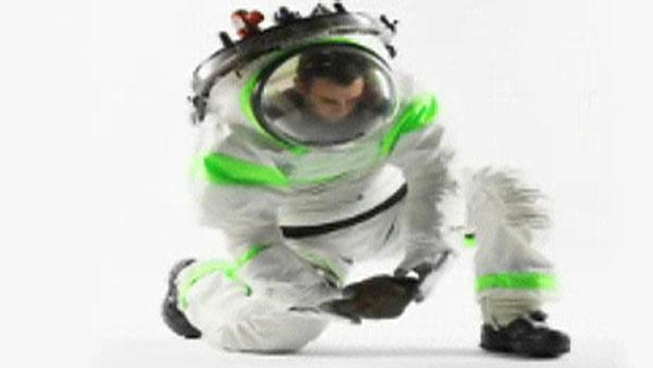 NASA: Prototype 'Buzz Lightyear' space suit