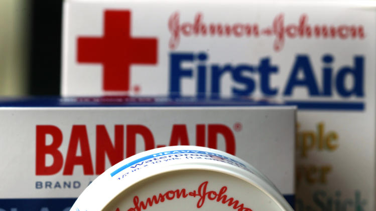 J&J 1Q profit falls 10 pct despite higher sales