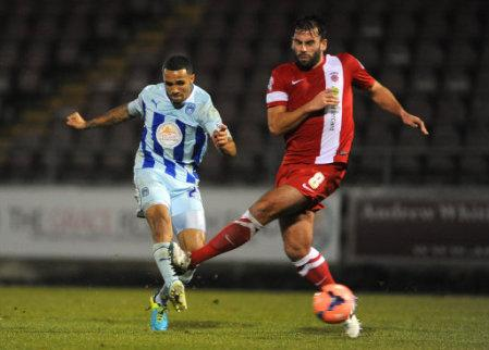 Soccer - FA Cup - Second Round - Replay - Coventry City v Hartlepool United - Sixfields Stadium