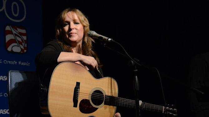 """Songwriter Gretchen Peters performing at the 8th Annual ASCAP """"I Create Music"""" EXPO, on Friday, April 19, 2013 in Hollywood, California. (Photo by Tonya Wise/Invision for ASCAP/AP Images)"""