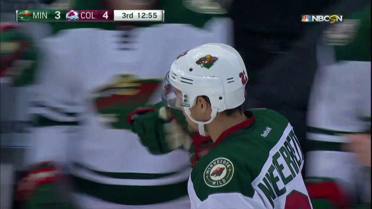 Wild get within one of Avalanche