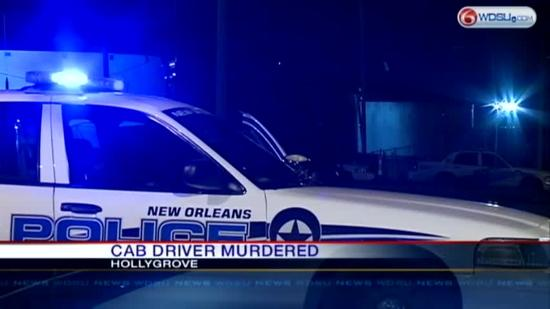 Police: Cab driver gunned down in Hollygrove