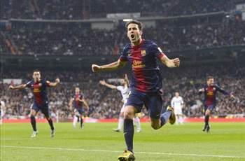 The result could have been better for Barcelona, says Fabregas
