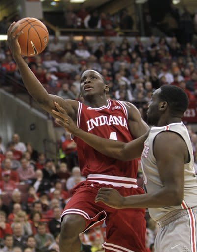 Hoosiers' big 3 lead way to 81-68 win over OSU