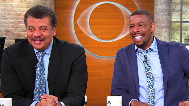 """Neil Degrasse Tyson and comedian Chuck Nice on their podcast and """"StarTalk"""""""