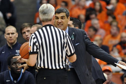 No. 7 Syracuse beats Villanova 72-61