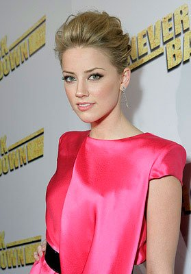 Amber Heard at the Los Angeles premiere of Summit Entertainment's Never Back Down