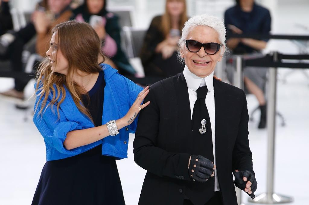 Lagerfeld's 'perfect trip' on Chanel Airlines