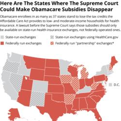 Huge Stakes As Supreme Court Takes Aim At Obamacare Again