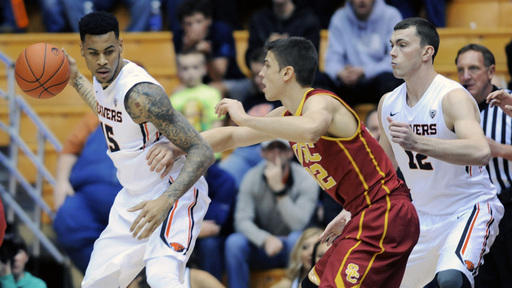 Nelson leads Oregon St. past USC 76-75 in OT