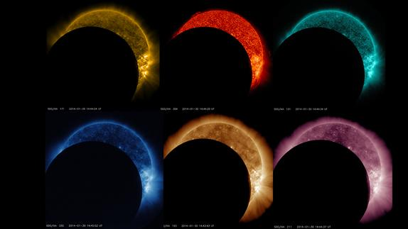 Dramatic Sun Storm, Partial Solar Eclipse Spied by NASA Spacecraft (Video)