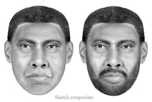 This undated handout artist rendering provided by the FBI shows an unknown suspect in the 2009 death of Virginia Tech student Morgan Harrington, who went missing after attending a Metallica concert at the University of Virginia in Charlottesville. The band Metallica is participating in a publicity campaign aimed at catching a man wanted in the death of a Virginia Tech student who disappeared after one of their concerts. (AP Photo/FBI)