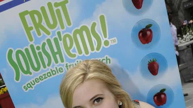 "IMAGE DISTRIBUTED FOR RADIO DISNEY LIVE! - Check out Caroline Sunshine from Disney Channel's ""Shake it Up"" at Radio Disney LIVE!, powered by New DOLE Fruit Squish'ems, held at Atlantic Station's Hop in the Park festival, Saturday, March 30, 2013, in Atlanta. Visit www.radiodisneylive.com for more information. (John Amis/AP Images for Radio Disney LIVE!)"