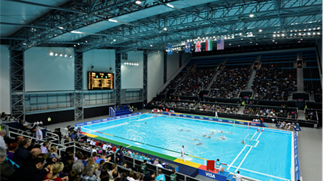 The London 2012 Water Polo Arena