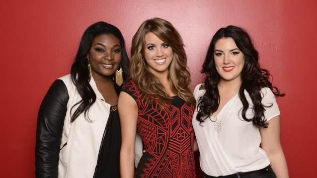 Candice Glover, Angie Miller and Kree Harrison -- the 'American Idol' Top 3 from Season 12 -- FOX