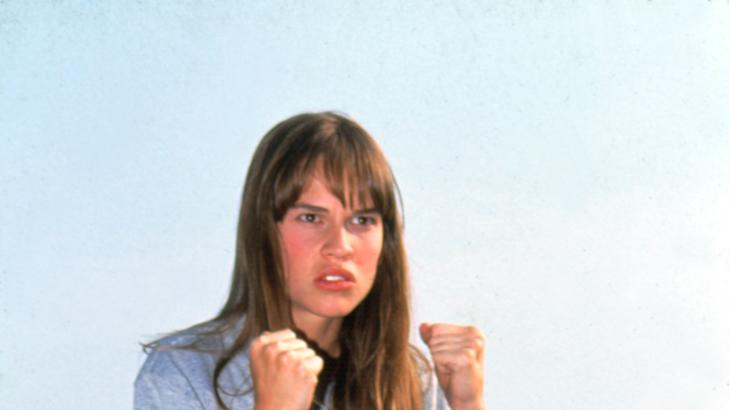 Hilary Swank - The Next Karate Kid