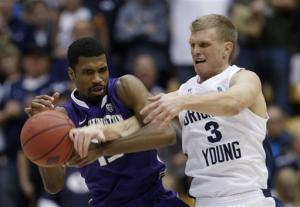 Haws' 37 points leads BYU over Washington 90-79