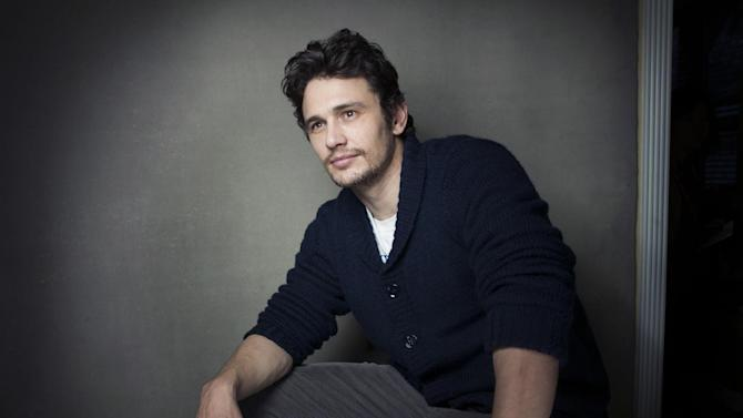 "Producer James Franco from the film ""Kink"" poses for a portrait during the 2013 Sundance Film Festival on Sunday, Jan. 20, 2013 in Park City, Utah. (Photo by Victoria Will/Invision/AP Images)"