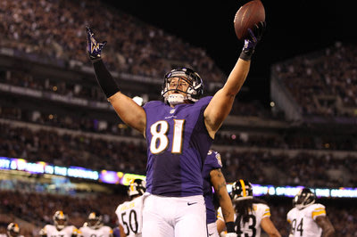Owen Daniels catches two touchdowns in win over Steelers