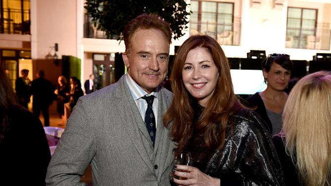 Bradley Whitford, left, and Dana Delany at the 8th annual Television Academy Honors  at the Montage hotel on Wednesday, May 27, 2015, in Beverly Hills, Calif. (Photo by Jordan Strauss/Invision for the Television Academy/AP Images)