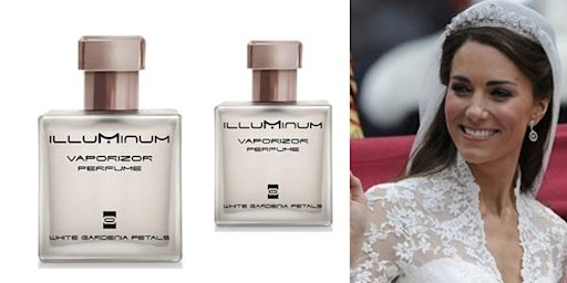 Parfum Kate Middleton,  Diminati Fashionista?