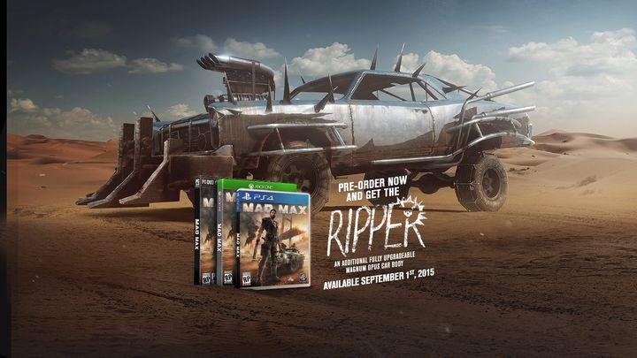 Mad Max game canned on Xbox 360 and PS3, other versions dated