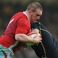 Wales could be without Gethin Jenkins when they face Australia