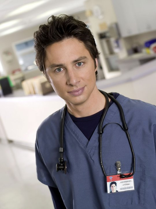 Zach Braff stars as John &quot;J.D.&quot; Dorian in Scrubs. 