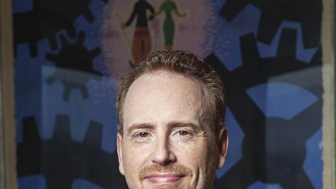 This photo taken on Dec. 4, 2012 shows NBC Entertainment Chairman Robert Greenblatt posing for a portrait in his office in Los Angeles. Greenblatt can bask in the glow of his network's win in the November ratings sweeps. It was NBC's first such victory in the 18-to-49 demo since 2003, vaulting from fourth place to first after being largely moribund in prime time for a decade. (AP Photo/Damian Dovarganes)