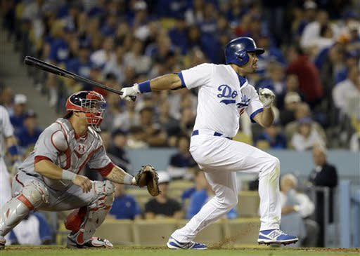 Kershaw, Ethier lead Dodgers past Nationals 2-0
