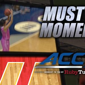 VT's Hannah Young Hits Game-Winning Buzzer Beater | ACC Must See Moment