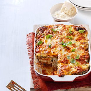 Healthy Pasta Makeover: Low Carb Lasagna
