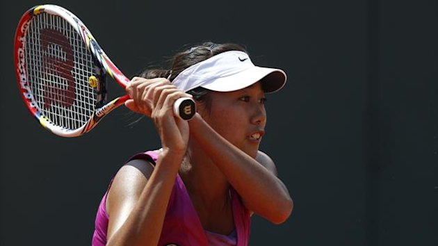 Zhang Shuai of China (Reuters)