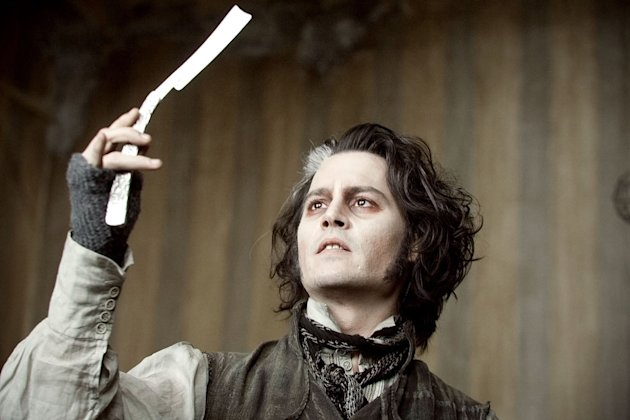 Johnny Depp's Oddest Movie Roles 2011 Sweeney Todd